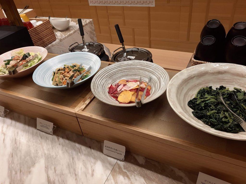 朝食ブッフェの和食2