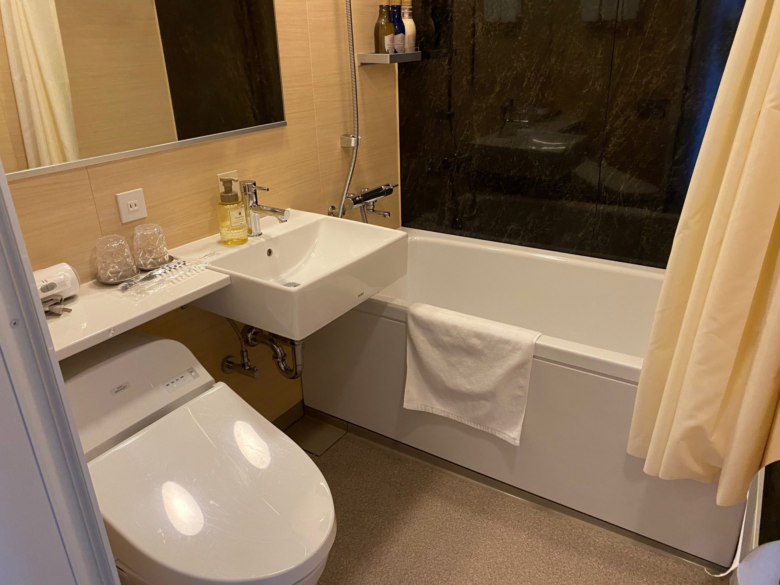 室内バスルーム