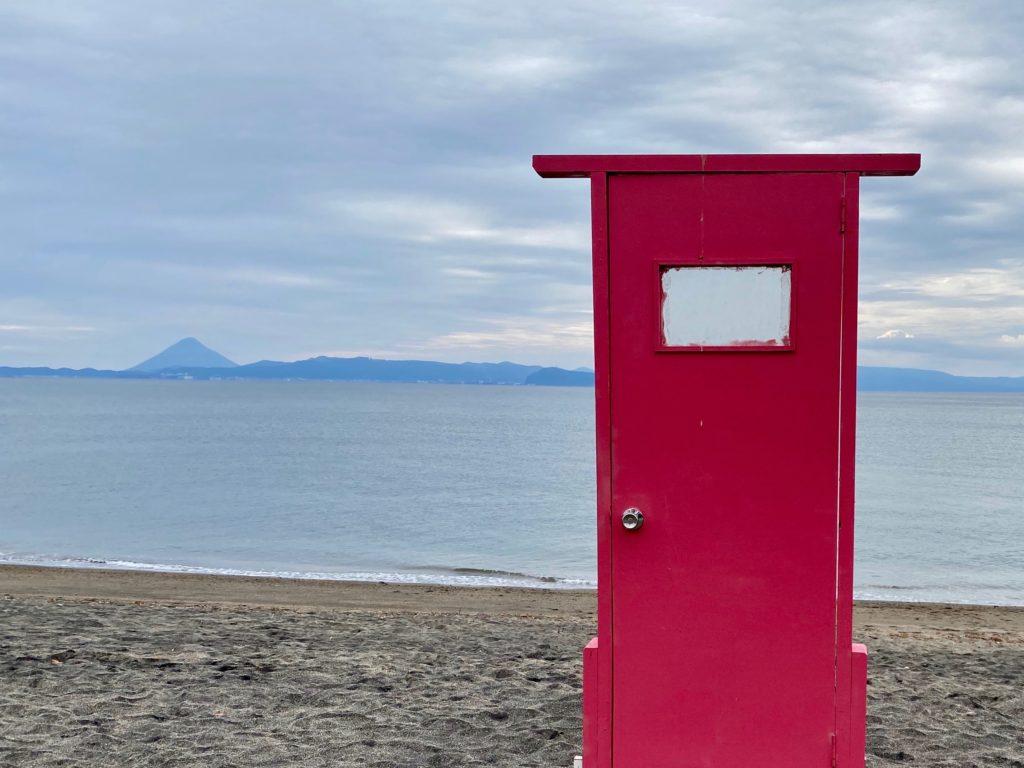 神川ビーチどこでもドア