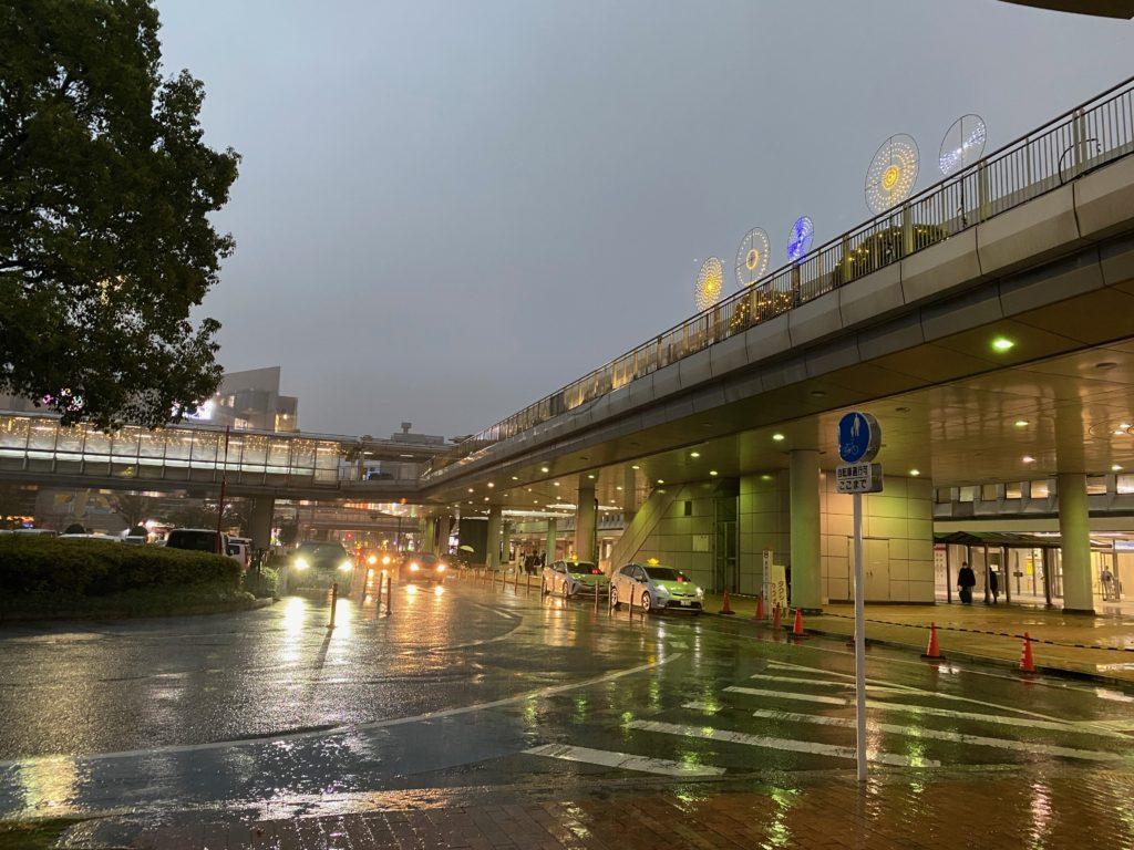 阪九フェリーターミナル行き連絡バス乗り場