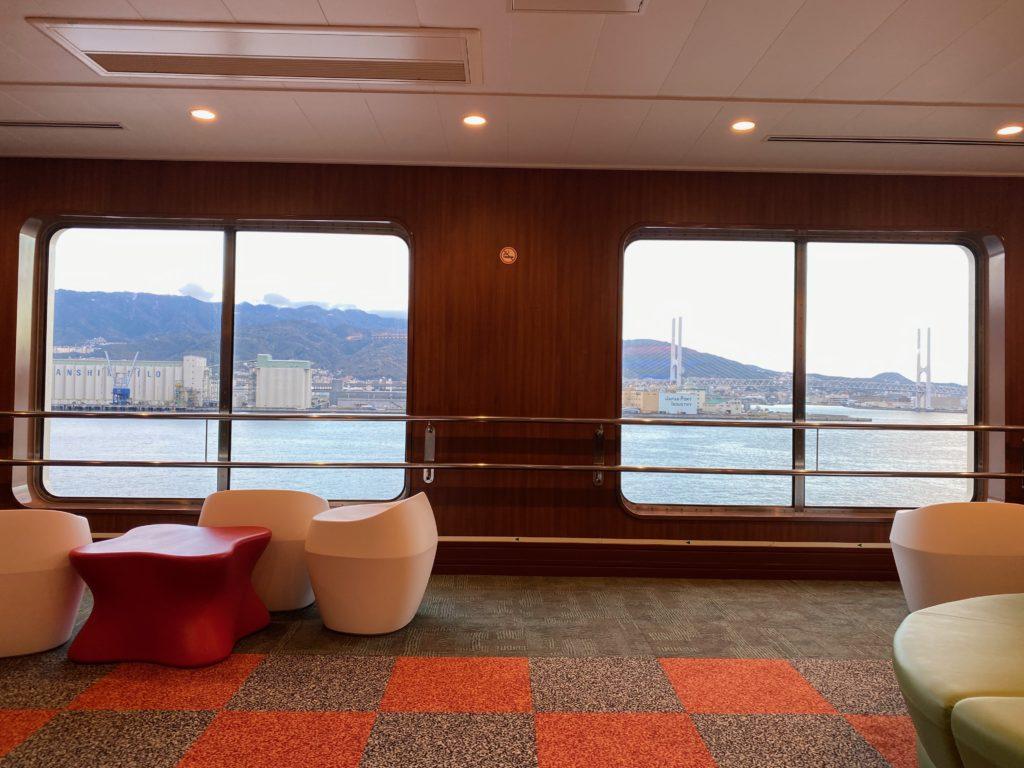 神戸港付近の景色