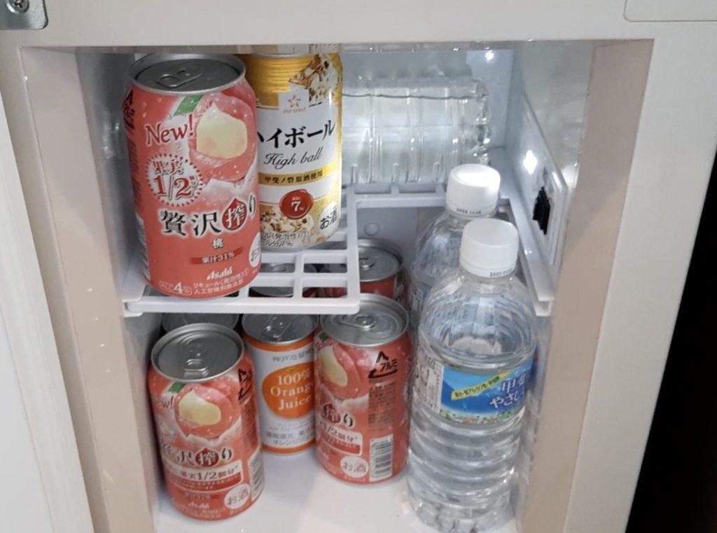 冷蔵庫のドリンク