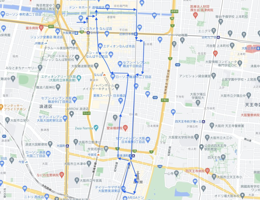 全コース地図
