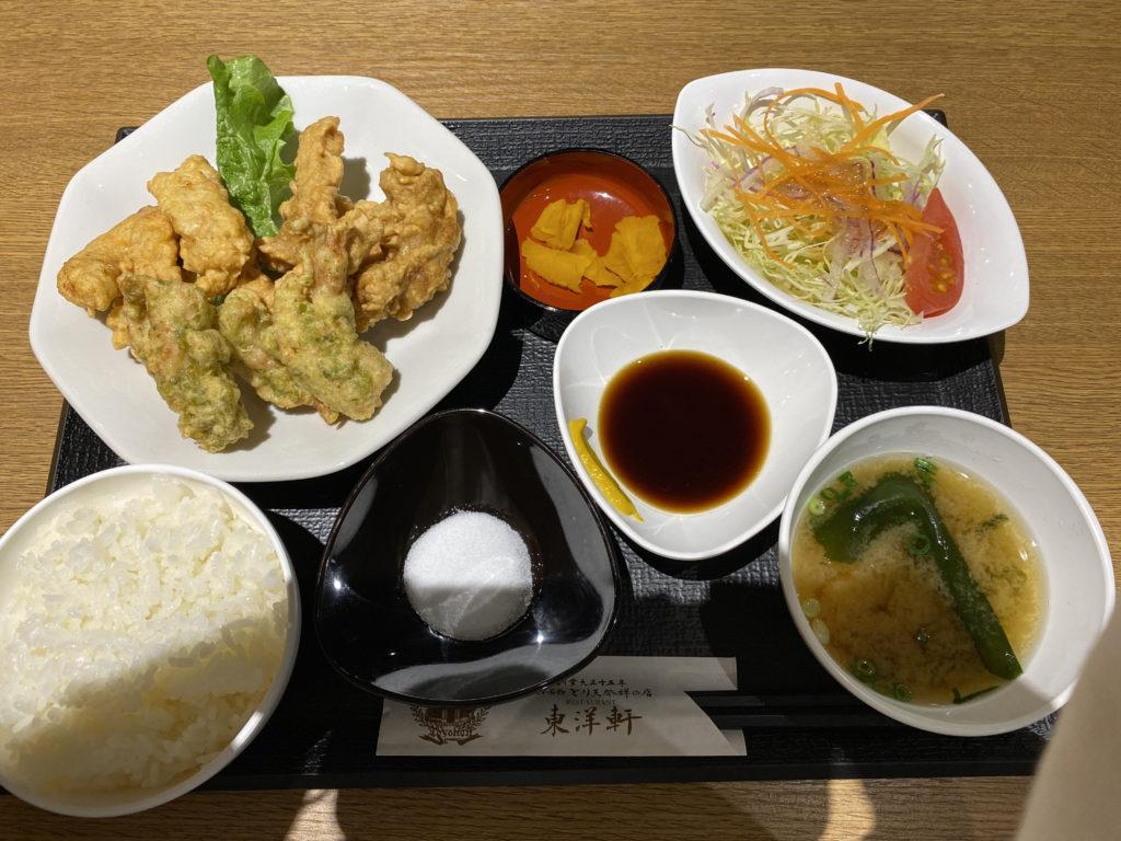 東洋軒トキハ別府店食べ比べセット